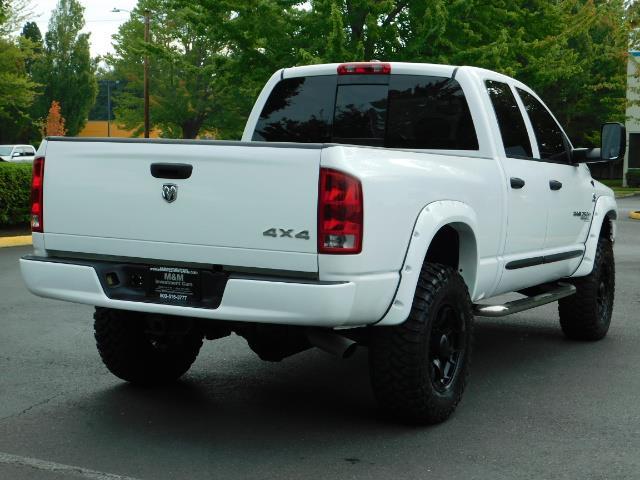 "2006 Dodge Ram 2500 Laramie 5.9L Quad Cab 4WD LIFTED / 35 ""MUD LOWMILES - Photo 8 - Portland, OR 97217"