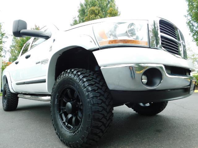 "2006 Dodge Ram 2500 Laramie 5.9L Quad Cab 4WD LIFTED / 35 ""MUD LOWMILES - Photo 23 - Portland, OR 97217"