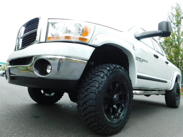 "2006 Dodge Ram 2500 Laramie 5.9L Quad Cab 4WD LIFTED / 35 ""MUD LOWMILES - Photo 24 - Portland, OR 97217"