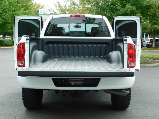 "2006 Dodge Ram 2500 Laramie 5.9L Quad Cab 4WD LIFTED / 35 ""MUD LOWMILES - Photo 27 - Portland, OR 97217"