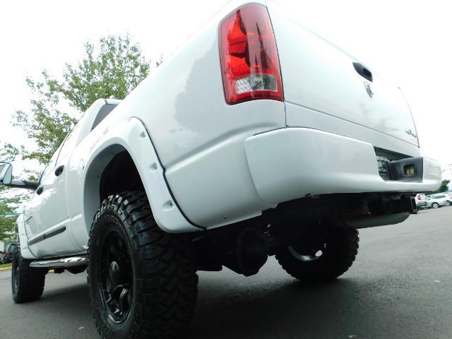 "2006 Dodge Ram 2500 Laramie 5.9L Quad Cab 4WD LIFTED / 35 ""MUD LOWMILES - Photo 39 - Portland, OR 97217"