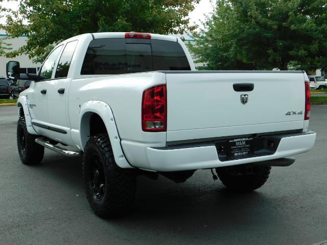 "2006 Dodge Ram 2500 Laramie 5.9L Quad Cab 4WD LIFTED / 35 ""MUD LOWMILES - Photo 6 - Portland, OR 97217"