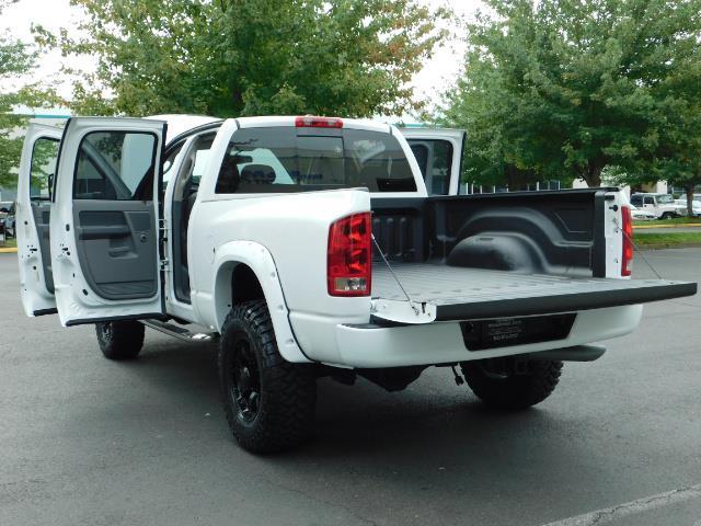 "2006 Dodge Ram 2500 Laramie 5.9L Quad Cab 4WD LIFTED / 35 ""MUD LOWMILES - Photo 26 - Portland, OR 97217"