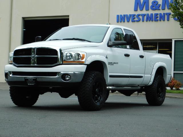 "2006 Dodge Ram 2500 Laramie 5.9L Quad Cab 4WD LIFTED / 35 ""MUD LOWMILES - Photo 44 - Portland, OR 97217"