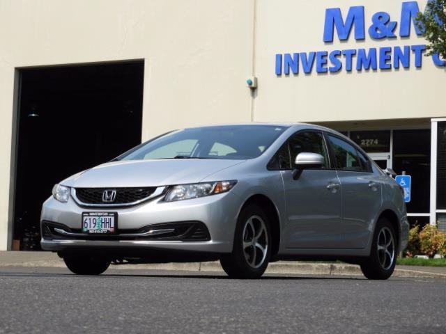 2015 Honda Civic SE / Sedan / Backup camera / Spoiler / 1-OWNER - Photo 40 - Portland, OR 97217