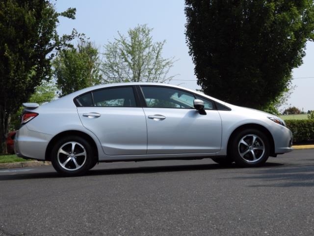 2015 Honda Civic SE / Sedan / Backup camera / Spoiler / 1-OWNER - Photo 4 - Portland, OR 97217