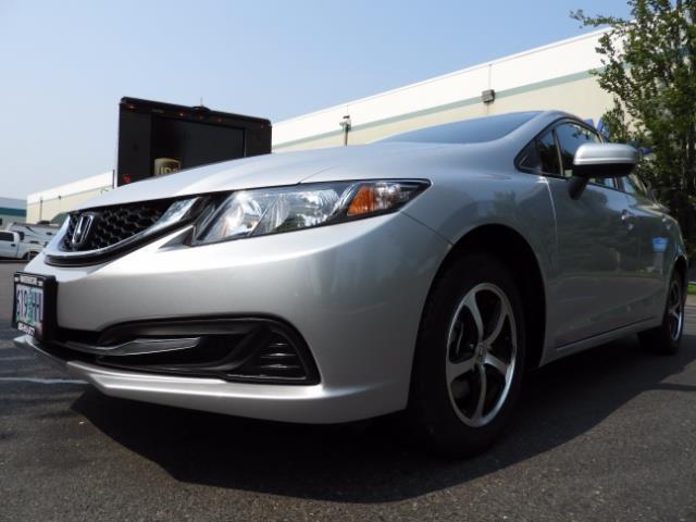 2015 Honda Civic SE / Sedan / Backup camera / Spoiler / 1-OWNER - Photo 50 - Portland, OR 97217