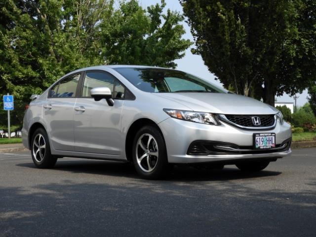 2015 Honda Civic SE / Sedan / Backup camera / Spoiler / 1-OWNER - Photo 2 - Portland, OR 97217