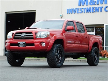 2009 Toyota Tacoma DOUBLE CAB V6 / 4X4 / TRD SPORT / MANUAL / LIFTED