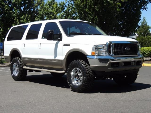 2001 Ford Excursion Limited    4x4    7 3l Diesel    Lifted