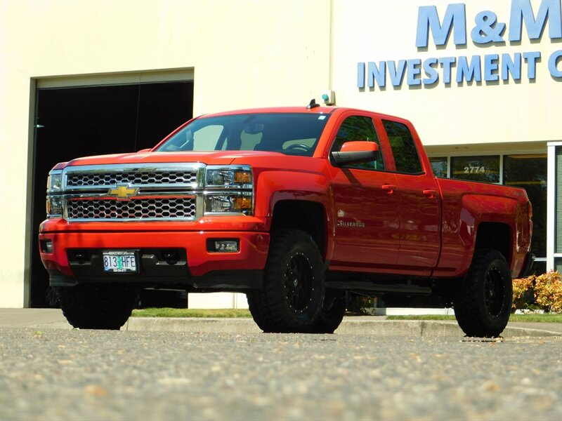 2015 Chevrolet Silverado 1500 LT 4x4 Double Cab / ONLY 12,00 photo
