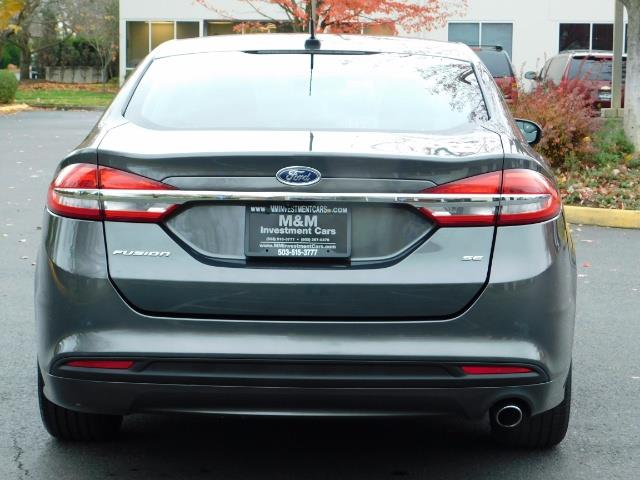 2017 Ford Fusion SE / Backup Camera / 1-OWNER / LOW MILES - Photo 6 - Portland, OR 97217