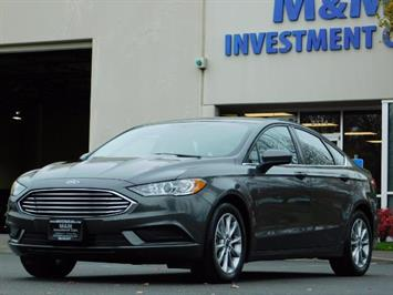 2017 Ford Fusion SE / Backup Camera / 1-OWNER / LOW MILES