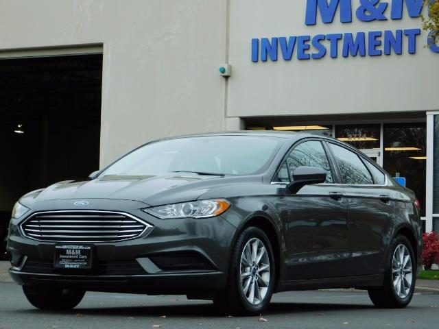 2017 Ford Fusion SE / Backup Camera / 1-OWNER / LOW MILES - Photo 1 - Portland, OR 97217