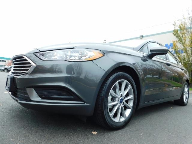 2017 Ford Fusion SE / Backup Camera / 1-OWNER / LOW MILES - Photo 9 - Portland, OR 97217
