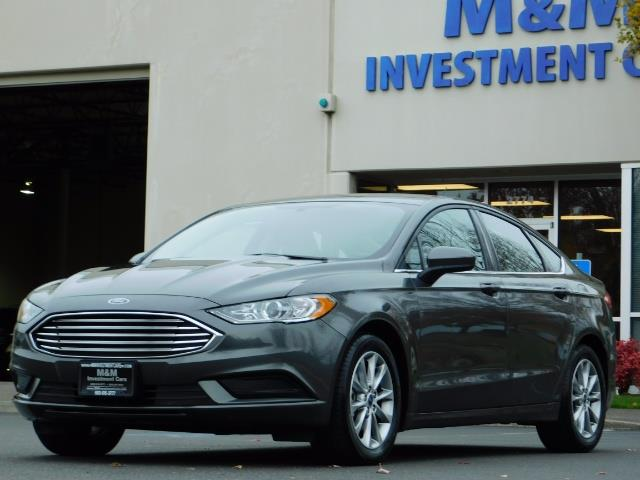 2017 Ford Fusion SE / Backup Camera / 1-OWNER / LOW MILES - Photo 42 - Portland, OR 97217