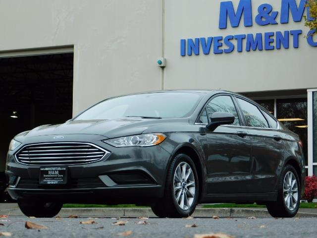 2017 Ford Fusion SE / Backup Camera / 1-OWNER / LOW MILES - Photo 40 - Portland, OR 97217