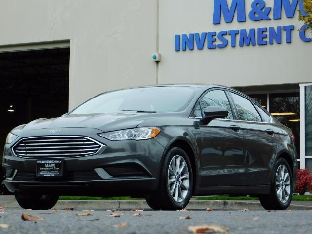 2017 Ford Fusion SE / Backup Camera / 1-OWNER / LOW MILES - Photo 41 - Portland, OR 97217