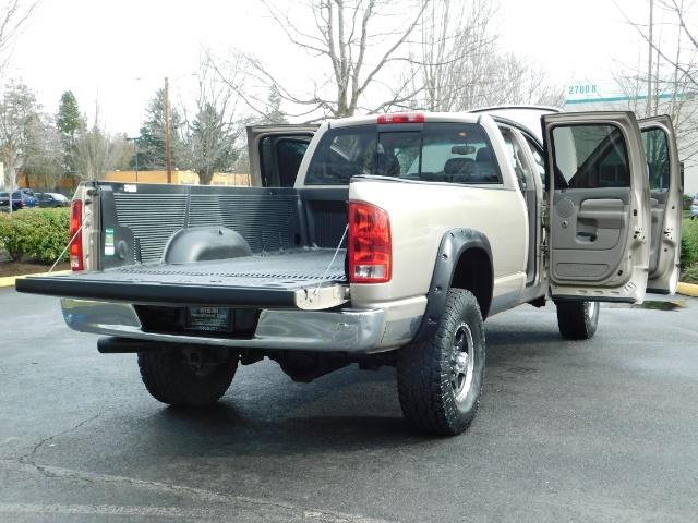 2005 Dodge Ram 2500 Laramie /4X4/ 5.9L Cummins DIESEL/ 6 SPEED MANUAL - Photo 22 - Portland, OR 97217