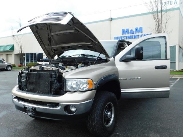 2005 Dodge Ram 2500 Laramie /4X4/ 5.9L Cummins DIESEL/ 6 SPEED MANUAL - Photo 25 - Portland, OR 97217