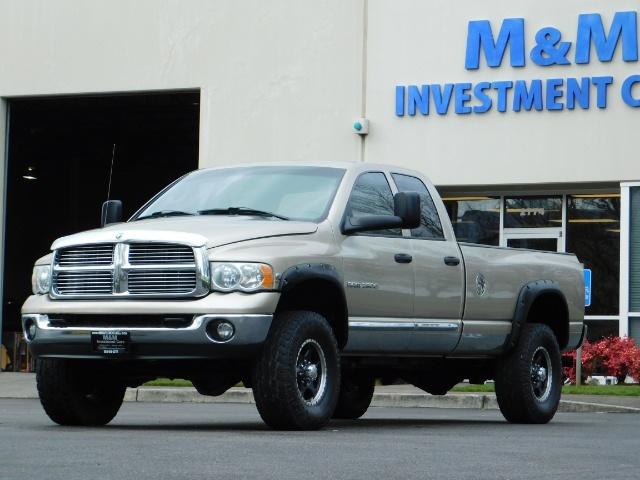 2005 Dodge Ram 2500 Laramie /4X4/ 5.9L Cummins DIESEL/ 6 SPEED MANUAL - Photo 36 - Portland, OR 97217