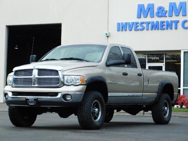 2005 Dodge Ram 2500 Laramie /4X4/ 5.9L Cummins DIESEL/ 6 SPEED MANUAL - Photo 1 - Portland, OR 97217