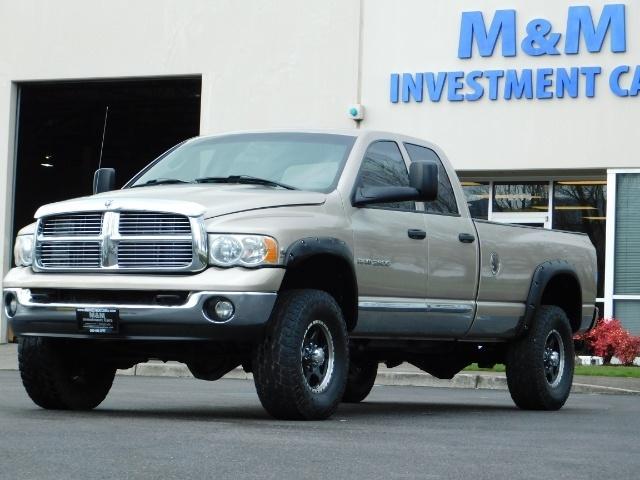 2005 Dodge Ram 2500 Laramie /4X4/ 5.9L Cummins DIESEL/ 6 SPEED MANUAL - Photo 35 - Portland, OR 97217