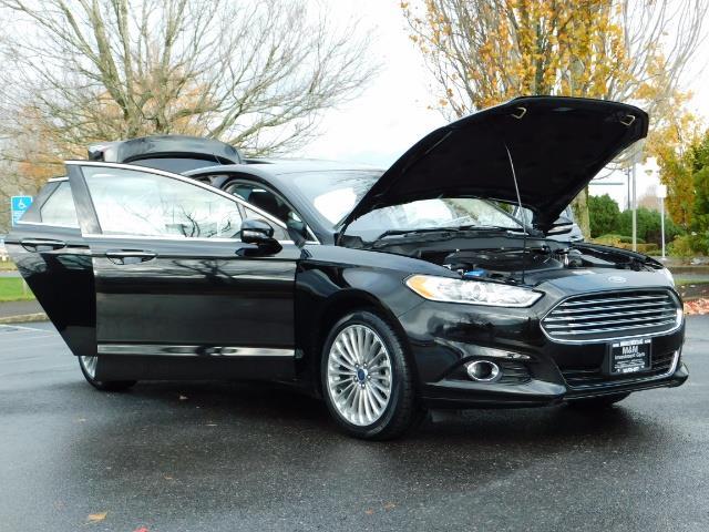 2016 Ford Fusion Titanium / Leather / Heated seats / SUNROOF - Photo 32 - Portland, OR 97217