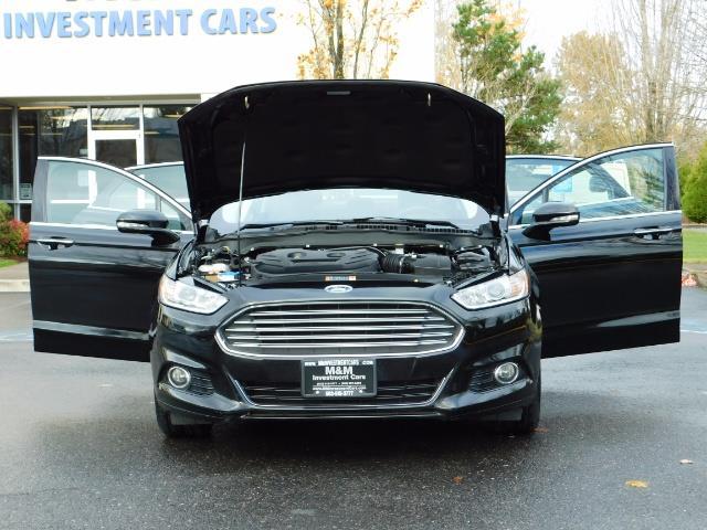 2016 Ford Fusion Titanium / Leather / Heated seats / SUNROOF - Photo 33 - Portland, OR 97217
