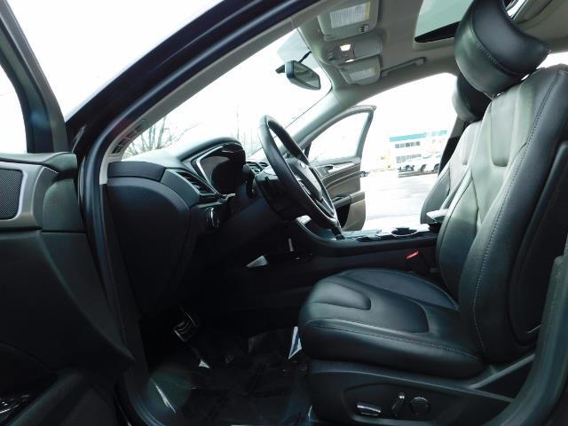 2016 Ford Fusion Titanium / Leather / Heated seats / SUNROOF - Photo 14 - Portland, OR 97217