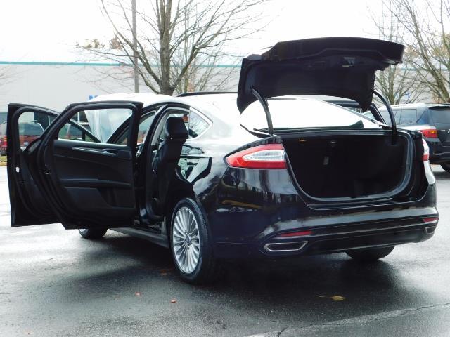 2016 Ford Fusion Titanium / Leather / Heated seats / SUNROOF - Photo 27 - Portland, OR 97217