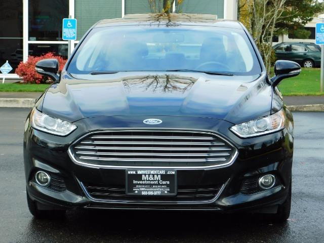 2016 Ford Fusion Titanium / Leather / Heated seats / SUNROOF - Photo 5 - Portland, OR 97217