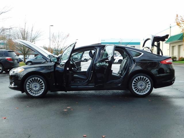 2016 Ford Fusion Titanium / Leather / Heated seats / SUNROOF - Photo 26 - Portland, OR 97217