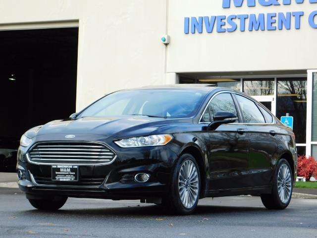 2016 Ford Fusion Titanium / Leather / Heated seats / SUNROOF - Photo 49 - Portland, OR 97217