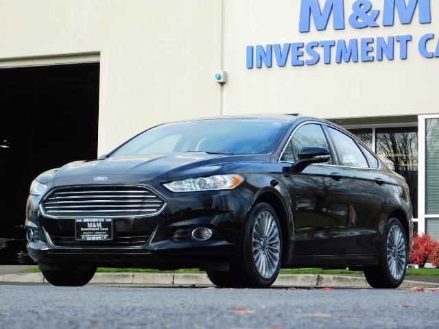 2016 Ford Fusion Titanium / Leather / Heated seats / SUNROOF - Photo 46 - Portland, OR 97217