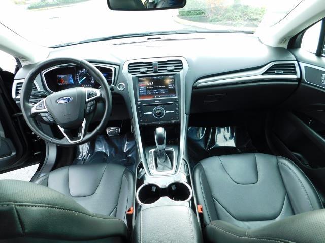 2016 Ford Fusion Titanium / Leather / Heated seats / SUNROOF - Photo 18 - Portland, OR 97217