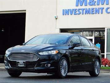 2016 Ford Fusion Titanium / Leather / Heated seats / SUNROOF Sedan