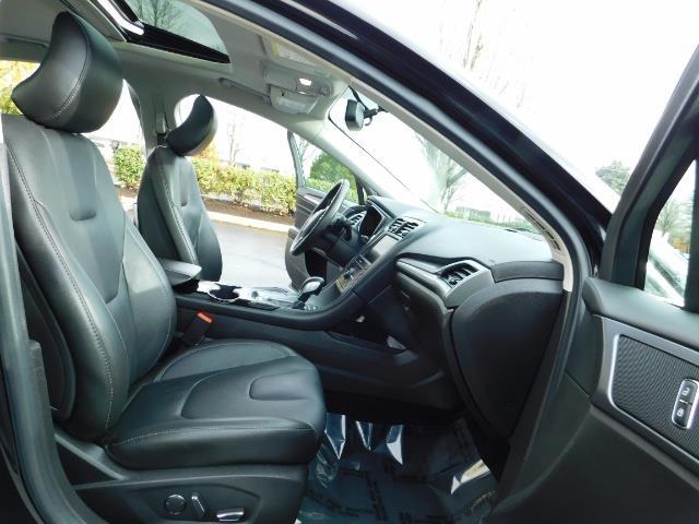 2016 Ford Fusion Titanium / Leather / Heated seats / SUNROOF - Photo 17 - Portland, OR 97217