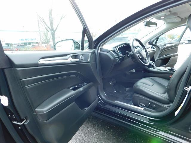 2016 Ford Fusion Titanium / Leather / Heated seats / SUNROOF - Photo 13 - Portland, OR 97217