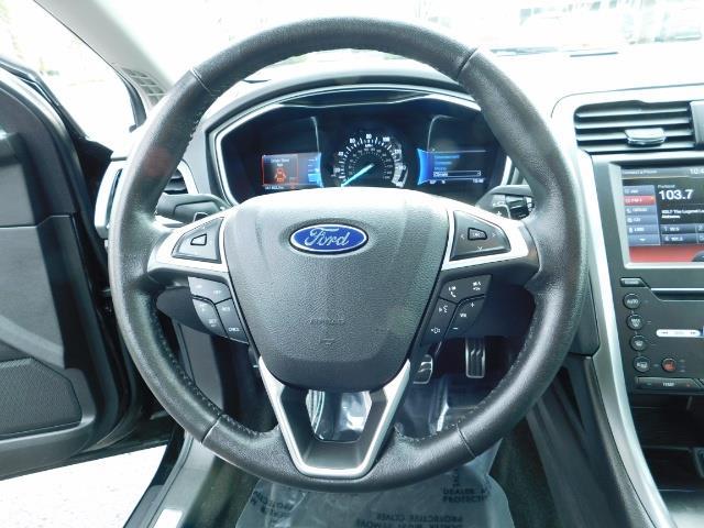 2016 Ford Fusion Titanium / Leather / Heated seats / SUNROOF - Photo 39 - Portland, OR 97217