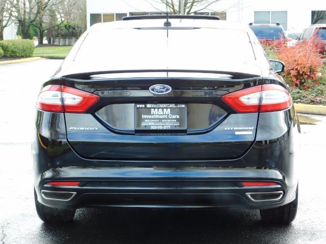 2016 Ford Fusion Titanium / Leather / Heated seats / SUNROOF - Photo 6 - Portland, OR 97217