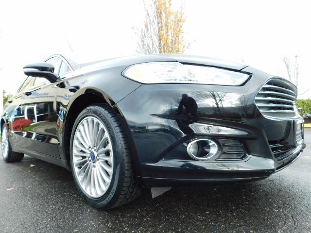 2016 Ford Fusion Titanium / Leather / Heated seats / SUNROOF - Photo 10 - Portland, OR 97217