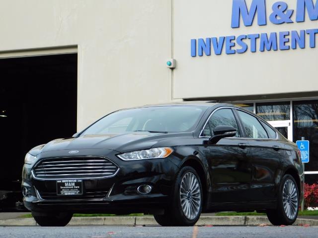 2016 Ford Fusion Titanium / Leather / Heated seats / SUNROOF - Photo 45 - Portland, OR 97217