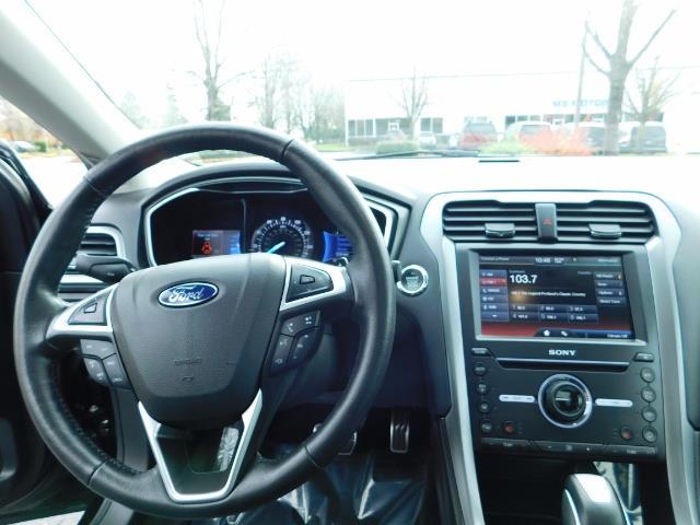 2016 Ford Fusion Titanium / Leather / Heated seats / SUNROOF - Photo 37 - Portland, OR 97217