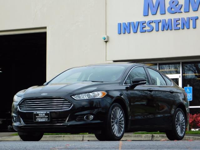 2016 Ford Fusion Titanium / Leather / Heated seats / SUNROOF - Photo 50 - Portland, OR 97217