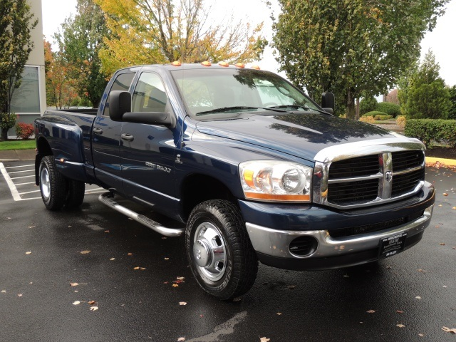 2006 dodge ram 3500 dually 4x4 5 9l cummins 6 speed. Black Bedroom Furniture Sets. Home Design Ideas