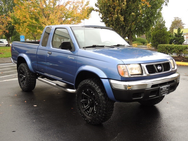 1999 Nissan Frontier Se 2dr 4x4 6cyl Automatic Lifted Photo 2