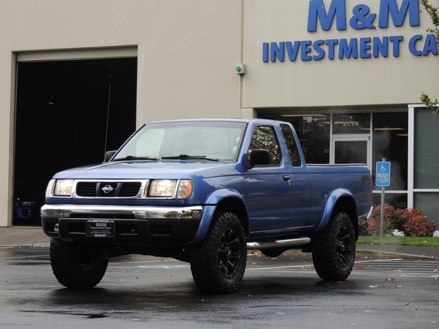 1999 Nissan Frontier Se 2dr 4x4 6cyl Automatic Lifted Photo 1