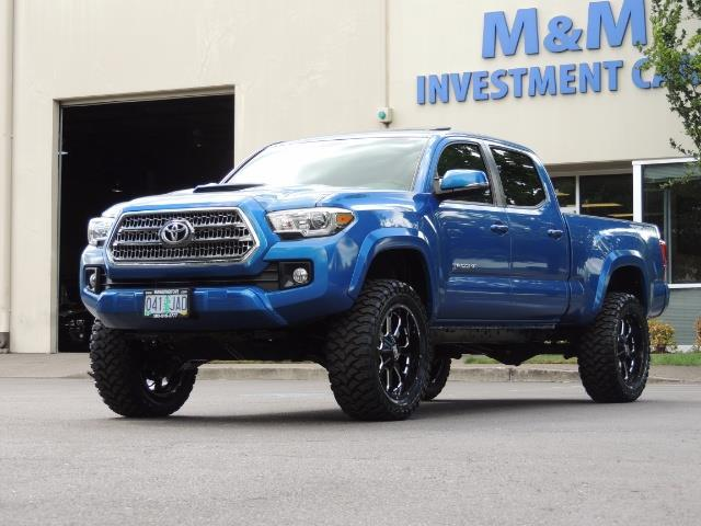 2016 Toyota Tacoma Lifted >> 2016 Toyota Tacoma Trd Sport 4x4 Navi Long Bed 14kmile Lifted