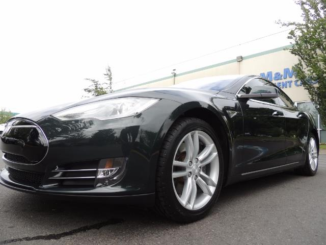 2013 Tesla Model S Tech Package / 5YR TESLA EXTENDED WARRANTY INCLUDE - Photo 9 - Portland, OR 97217